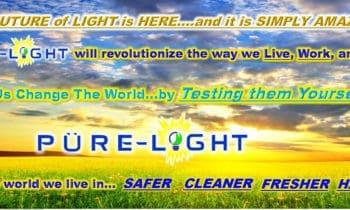 Purifying Light Bulbs by Pure Light