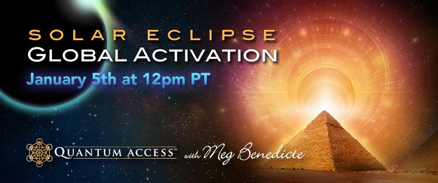 Capricorn Solar Eclipse Global Activations