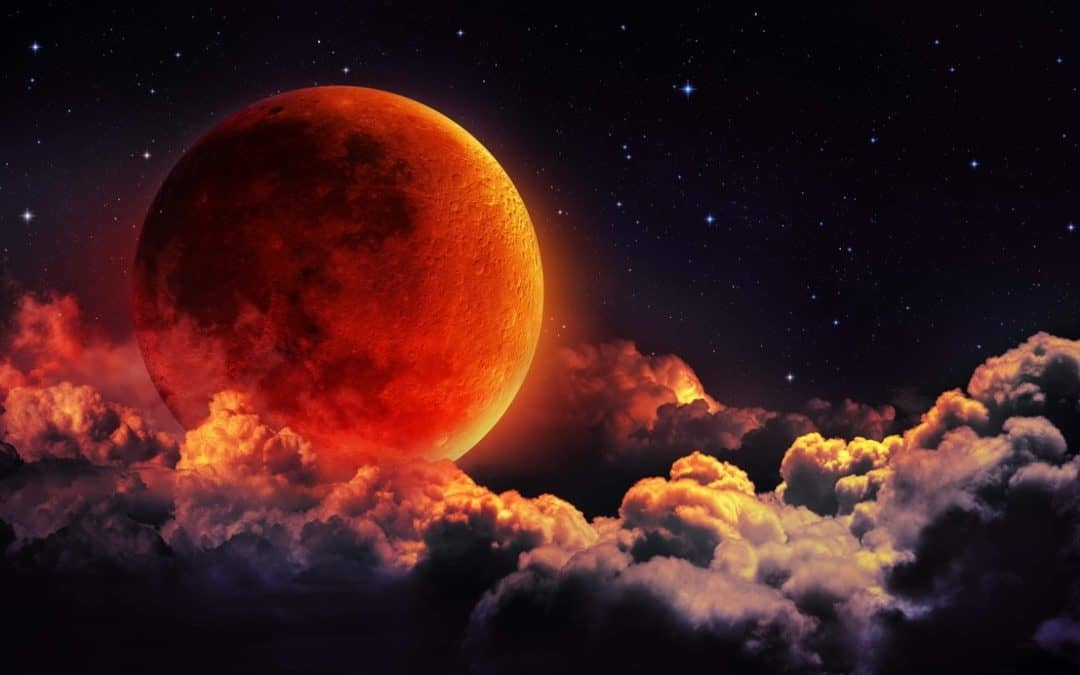Super Blood Moon Leo Lunar Eclipse