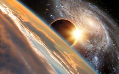 Solar Eclipse Galactic Reset